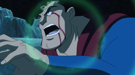 Superman-Stuck In A Telekenetic Seizure!