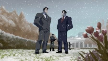 Clark Kent-Deep In The President's Anti-Batman Talks!