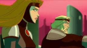Zor-El & Alura-Making Their Escape!