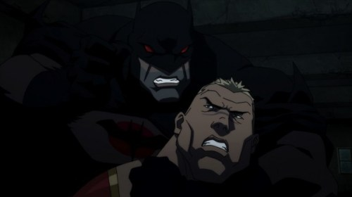 Batman-Going Toe-To-Toe With The Atlantean King!