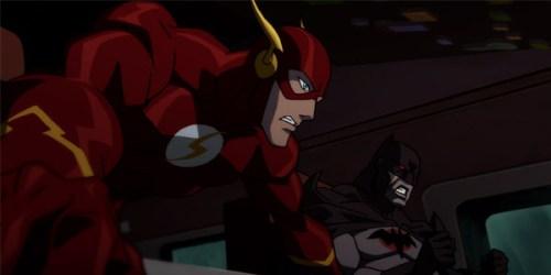 Flash & Batman-Flying Into A Fracas!