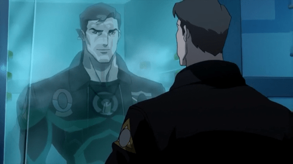 Hal Jordan-Not The Fateful Encounter With Abin-Sur That We Know Of! (2)
