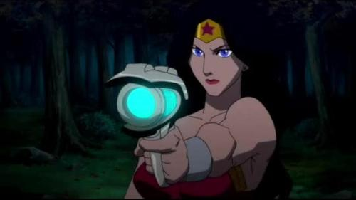 Wonder Woman-This Isn't A Cold Shoulder!