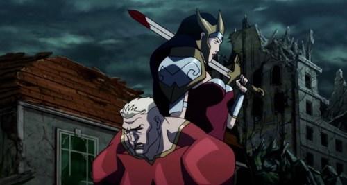 Wonder Woman-Triumphant Over Aquaman!