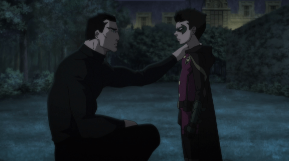 Bruce Wayne-Lack Of Trust!