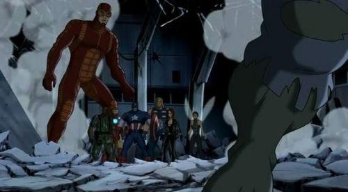 Avengers-Gotta Get A Friend Under Control!
