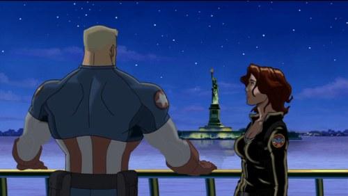 Black Widow-It's Not Your Fault, Cap!