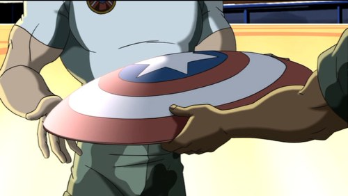 Captain America-Here's Your New Shield! (2)