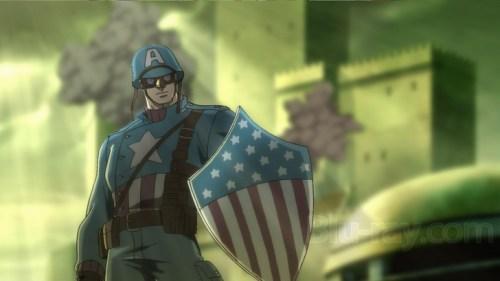 Captain America-Let's Storm The Castle!
