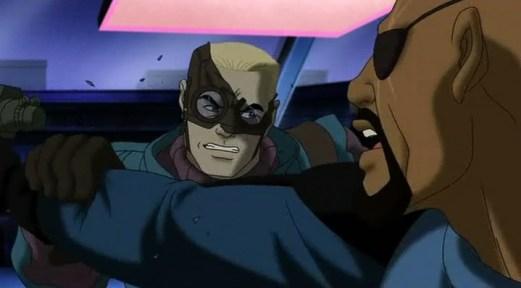 Captain America-Too Furious For Fury!