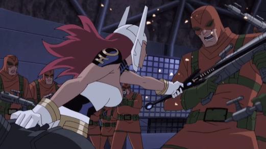 Wonder Woman-Klubbing Some Kobras!