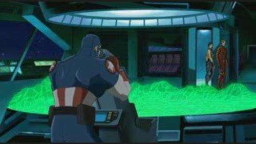 Captain America-Something's Wrong Down There!