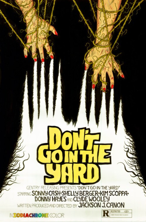 Don't Go In The Yard!