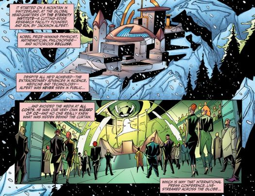 Justice League-Gods & Monsters No. 1-A Hot Future Among The Cold Mountains!