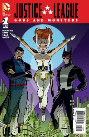 Justice League-Gods & Monsters No. 1-Alt!