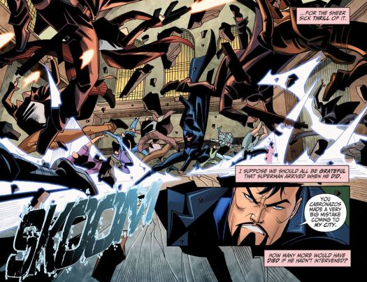 Justice League-Gods & Monsters No. 1-Not In My City!