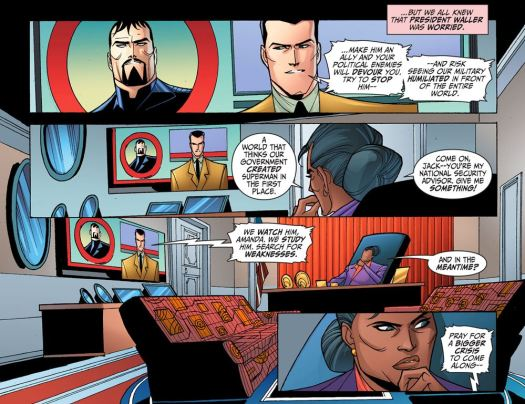Justice League-Gods & Monsters No. 1-We'll Watch & Learn!