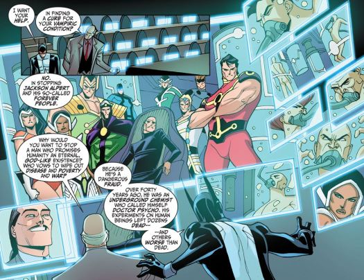 Justice League-Gods & Monsters No. 2-Alpert Isn't As He Seems!