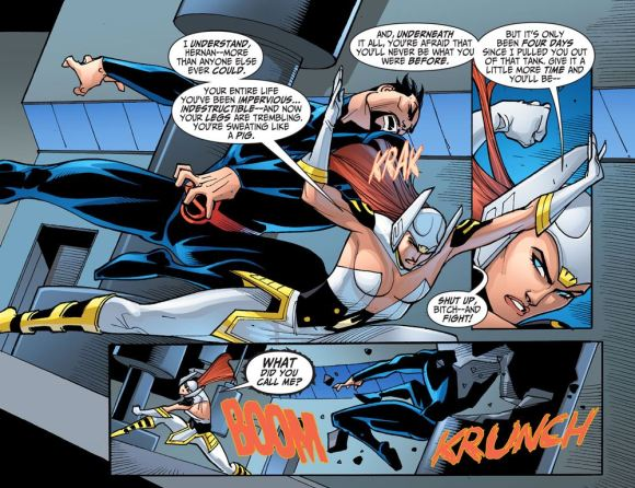 Justice League-Gods & Monsters No. 2-Not As Invincible As You Once Was!