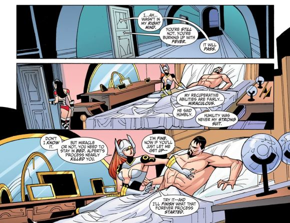 Justice League-Gods & Monsters No. 2-Rest Up, Hernan!