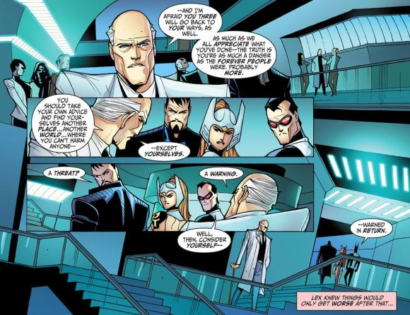 Justice League-Gods & Monsters No. 2-Warnings From Lex!