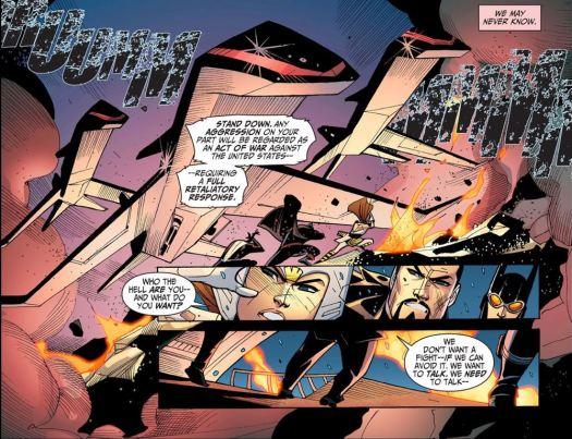 Justice League-Gods & Monsters No. 3-Official Entrance!