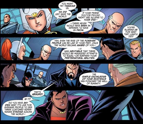 Justice League-Gods & Monsters No. 3-We Can't Let You Run Around Unchecked!
