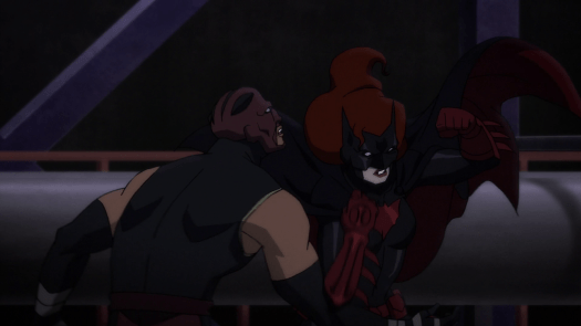 Batwoman-Hits Towards Hellhound!