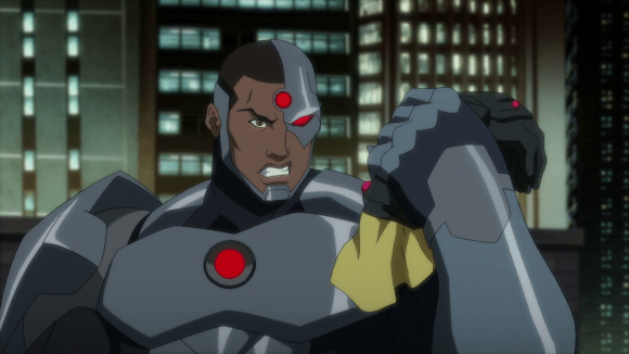 Cyborg-You Won't Be Needing This Anymore!