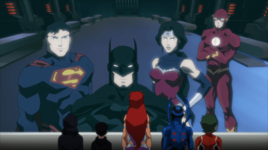 Justice League-Job Well Done, Titans!