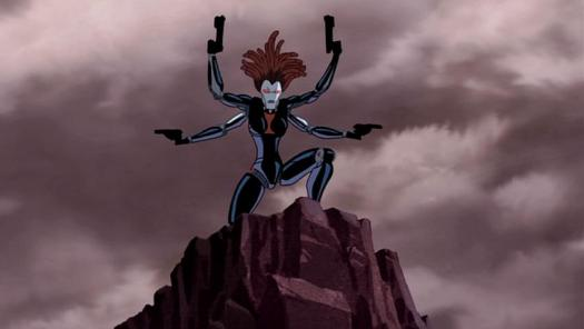 Iron Black Widow-Take Aim!