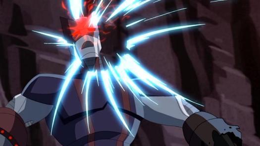 Iron Hawkeye-At The Receiving End Of A Killshot!