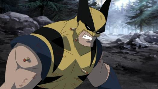 Wolverine-Caught Offguard!
