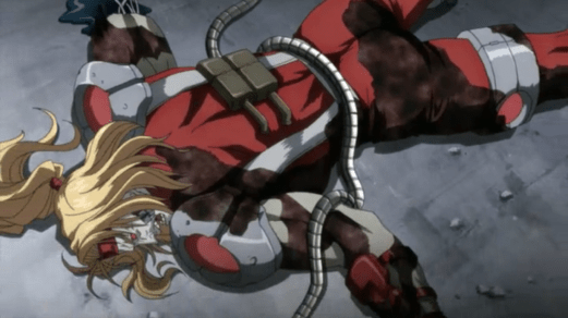Omega Red-Defeated!