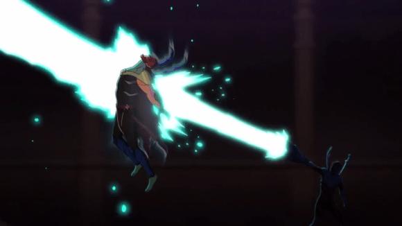 Blue Beetle-Blasting Brother Blood!