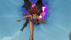 Starfire-In Trouble!