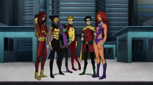 Teen Titans-Welcome To The Team, Kori!