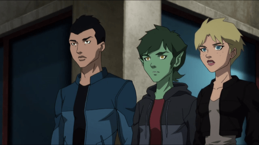 Teen Titans-Moral Support!