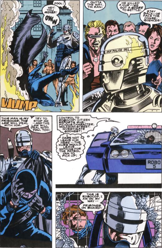 RoboCop #10-Gotta Get Him Outta Here!