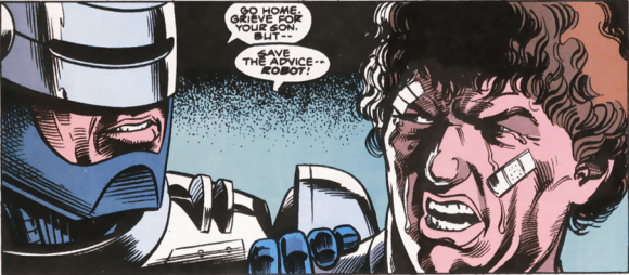 RoboCop #10-Trapped In Grief!
