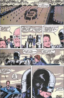 RoboCop #11-Ending In Peace!