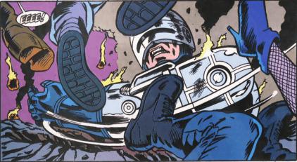 RoboCop #12-Fight On Through Purgatory!
