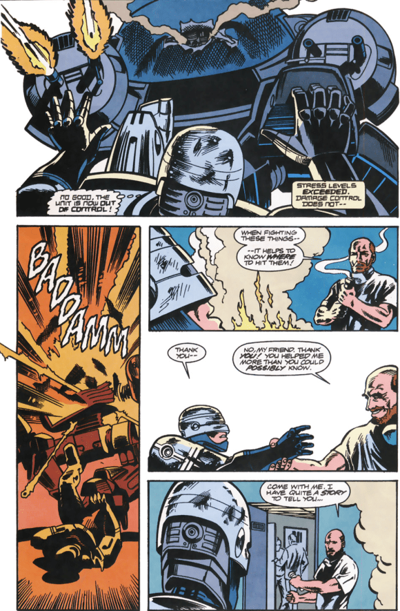 RoboCop #13-Saved By An Unexpected Ally!
