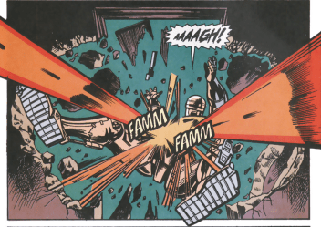 RoboCop #13-Under A Suprise Attack!