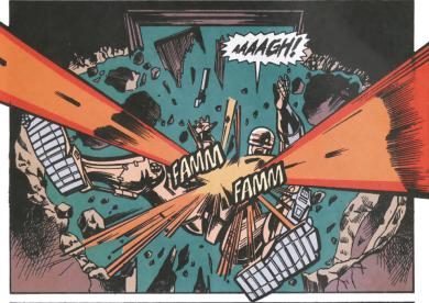RoboCop #13-Under A Suprise Attack!