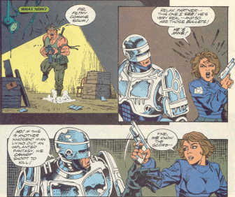 RoboCop #16-We've Got Company!