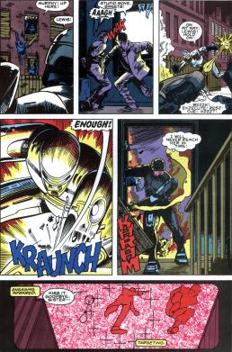 RoboCop #2-Lewis Is In Trouble!