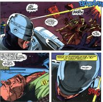 RoboCop #2-Shaken From Civilan Casualty!