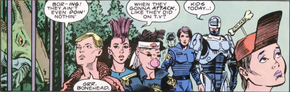 RoboCop #7-On Patrol!