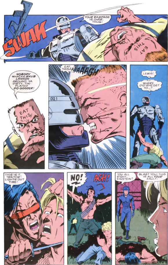 RoboCop #8-Down Goes The Leaders!